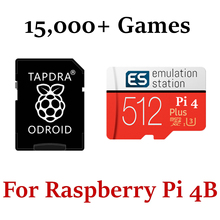 Micro-Sd Emulation-Station Raspberry Pi Retropie-4.6 Over-56-Systems for 4/3d/Boxart/..