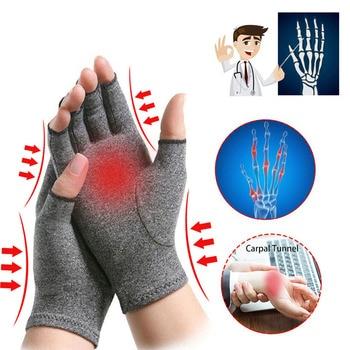 1 Pair Adult Rheumatoid Compression Hand Glove For Osteoarthritis Arthritis Joint Pain Relief Wrist Support