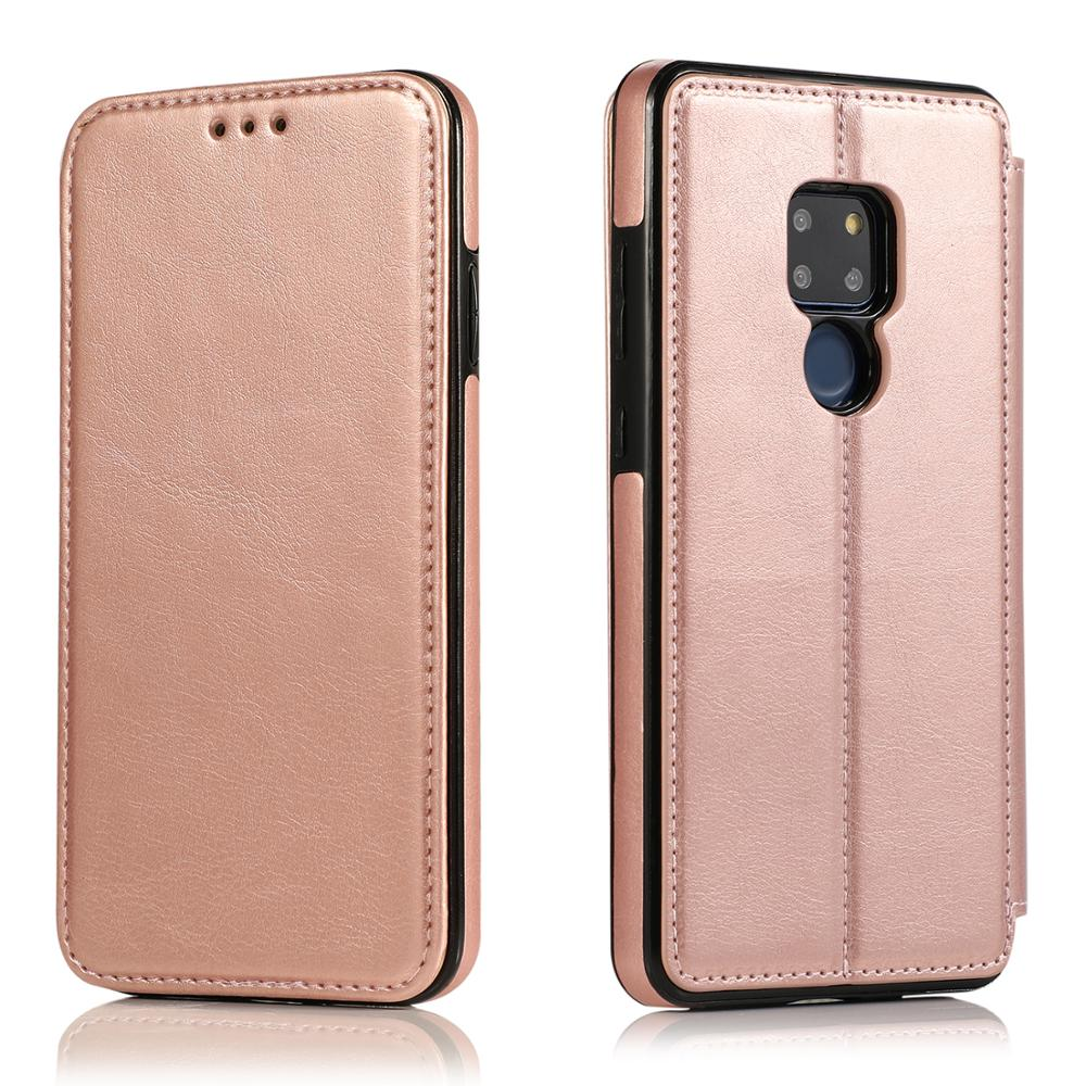 Luxury Genuine Leather Magnetic adsorption Wallet <font><b>Case</b></font> for <font><b>Huawei</b></font> P30 P20 <font><b>Mate</b></font> <font><b>20</b></font> pro <font><b>lite</b></font> <font><b>Case</b></font> Multi Card Holders <font><b>Flip</b></font> Cover image