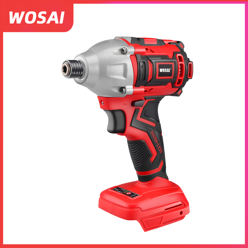 WOSAI 20V Electric Screwdriver 300NM Brushless Cordless Screwdriver Impact Drill No battery and charger