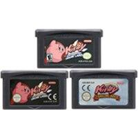 32 بت لعبة فيديو خرطوشة بطاقة وحدة التحكم لنينتندو GBA كيرب مرآة مذهلة كابوس في دريم لاند اللغة الإنجليزية اديتي