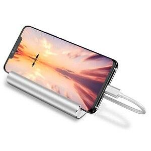 Image 3 - Bevigac 7 في 1 USB 3.0 نوع C Hub 5Gbps عالية السرعة محول oncentrator الخائن ث/4K HDMI ميناء حامل هاتف لماك بوك برو HP