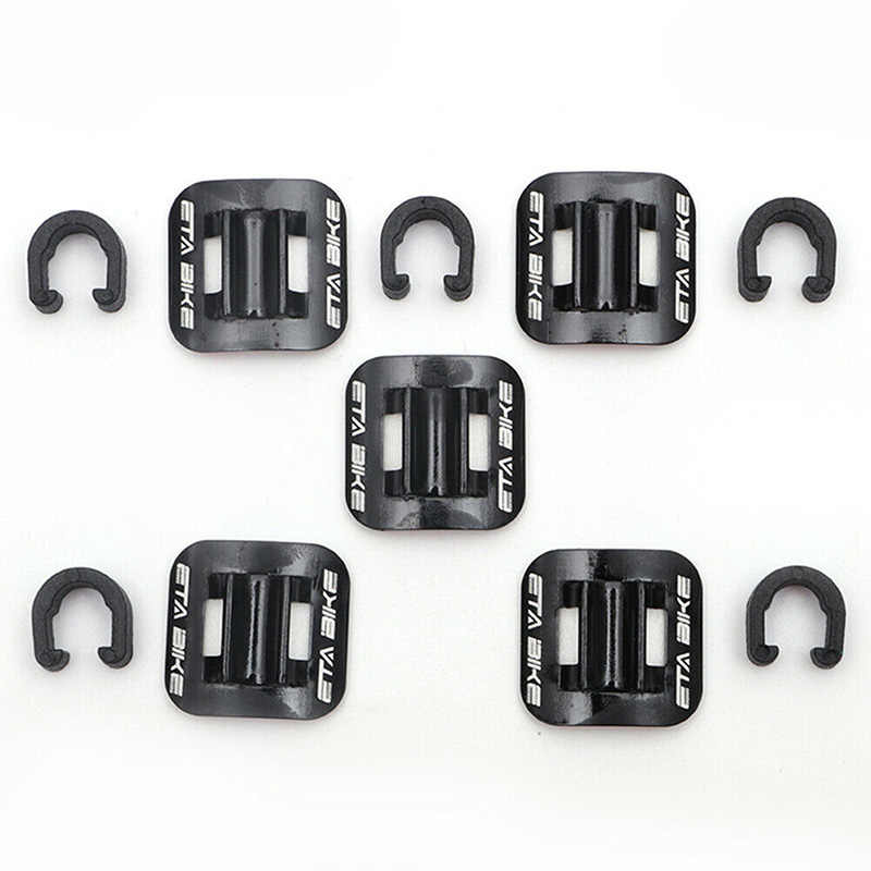 MTB Mountain Bicycle C Clips Lines Housing Guide Tubing Fixed Clamp Cord Holder