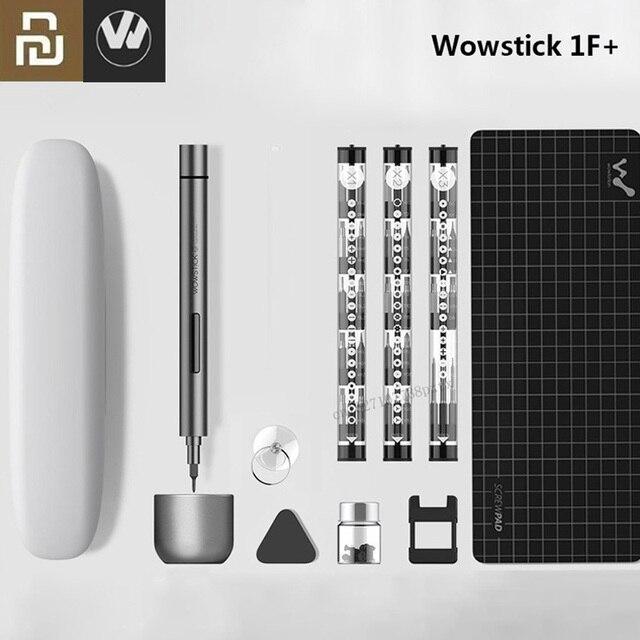 Ban Đầu Youpin Wowstick 1F + 64 Trong 1 Điện Tua Vít Không Dây Lithium Ion Sạc Công Suất Đèn Led Vít Mijia người Lái Xe Bộ