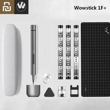 オリジナルyoupin wowstick 1F + 1 電気スクリュードライバーで 64 コードレスリチウムイオン充電led電源ネジmijiaドライバーキット