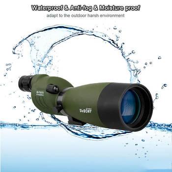 SVBONY Spotting Scope 25-75x70 Zoom Telescope SV17 BAK4 Prism Powerful Monocular Hunting Spyglass Waterproof Long Range Optics 6