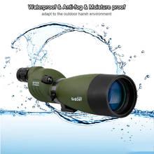 SVBONY Telescope 25-75×70 Zoom Spotting Scope SV17 BAK4 Prism FMC Lens Coating Hunting Monocular Waterproof Outdoor Optics