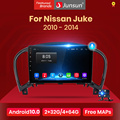 (Промокод:JUNSUN2025)Junsun V1 Android 10 AI голосовых Управление Автомобиль Радио Мультимедийный видеоплеер для Nissan Juke YF15 2010-2014 GPS навигация GPS без 2 din