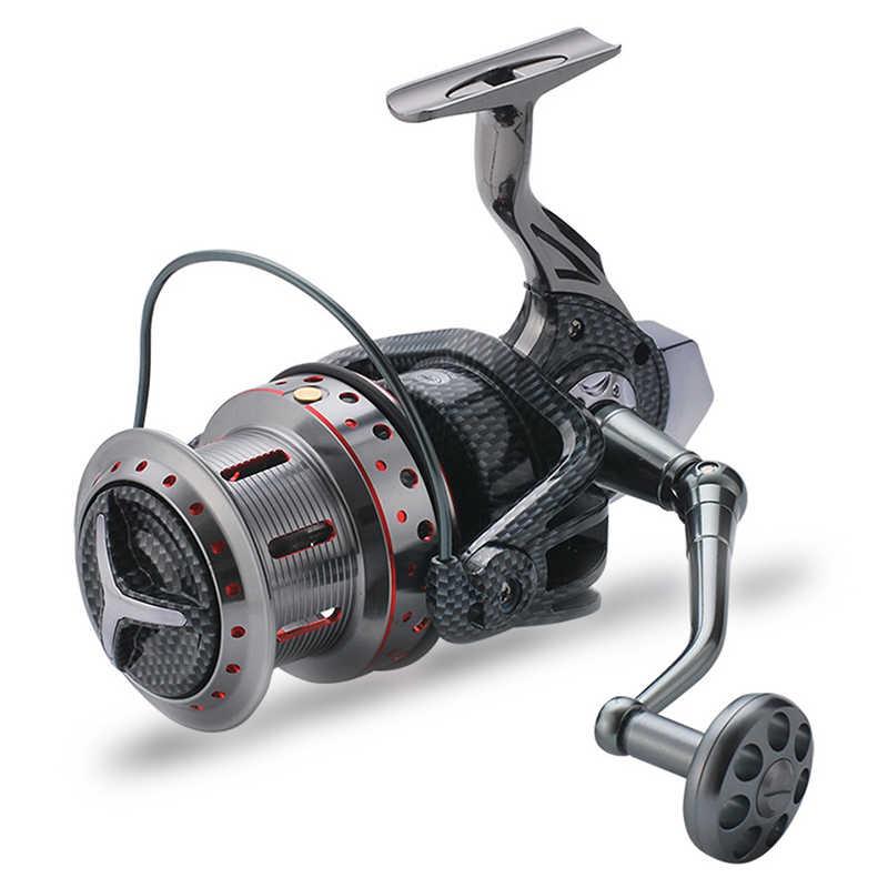 Fishing Spinning Reels Metal Spool 12000 10000 9000 Series Saltwater Fresh Water