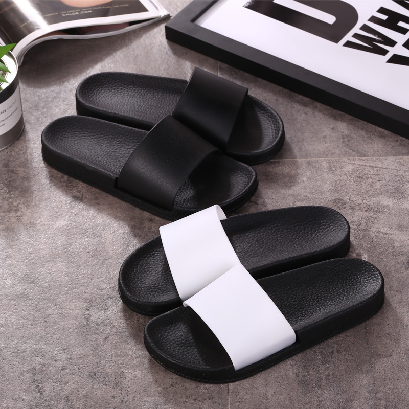 Summer Shower Room Slipper Woman Men Home Furnishing Household Indoor Non-slip Thickness Beach Shoes