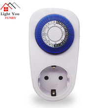 Timing socket 24 hour timer switch controller 16A intelligent mechanical plug air conditioner dedicated socket ts 4000 multi function thermostat timer switch socket with sensor probe energy saving mechanical timer socket timing switch hot