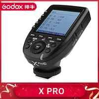 Transmissor de gatilho flash da série de godox xpro-c/n/s/f/o para todo o tipo de câmera para canon nikon sony olympus panasonic fuji