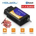 KOLSOL ELM327 Bluetooth OBD2 сканер V1.5 ELM327 с переключателем модифицированный для Ford CH340 + 25K80 чип HS-CAN / MS-CAN