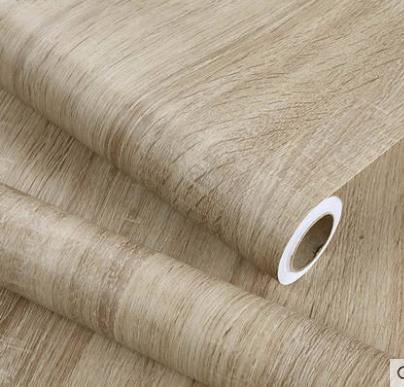 Holzmaserung aufkleber schrank schrank tisch möbel renovierung aufkleber tapete selbst-adhesive PVC wasserdichte aufkleber