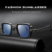Square Steam Punk oculos Male Eyewear Men Classic Design retro Luxury Brand Allo