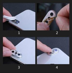 Image 5 - Pour Redmi Note 7 caméra lentille protecteur anneau placage aluminium pour Xiaomi Redmi Note 8 Pro Note 8T caméra couverture anneau Protection