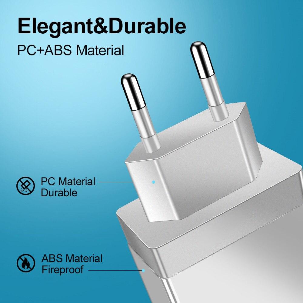 Crauch USB зарядное устройство Quick Charge 3,0 для телефона адаптер для iPhone huawei mate 30 планшета портативное настенное мобильное зарядное устройство быс...