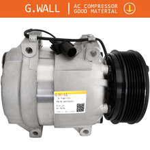 Car A/C Compressor Pump With Clutch For Ssangyong Rexton 2.7D 4x4 2.7 XDI Turbo 4x4 2.9TD 3.2 6611304415 6611304915 6651305011 new ac compressor for ssangyong rexton gab 2 7 2 9 2002 6611304415 6611304915 714956 tsp0155880 92010948