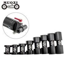 Shock-Absorbers-Socket Bike Bicycle MTB Shocks Suspension-Turn-Poi Bushing-22 MUQZI Rear