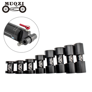 MUQZI Bike Rear Shocks Du bushing 22 24 26 32 40 44 50 54mm MTB Road Bicycle Shock Absorbers Socket 12Mm*8Mm Suspension Turn Poi