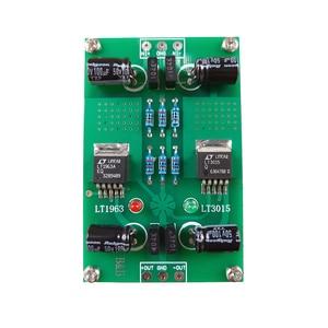 Image 3 - LT1963A LT3015 חיובי ושלילי מתח DC DC דיוק רעש נמוך ליניארי מוסדר אספקת חשמל עבור Preamp DAC