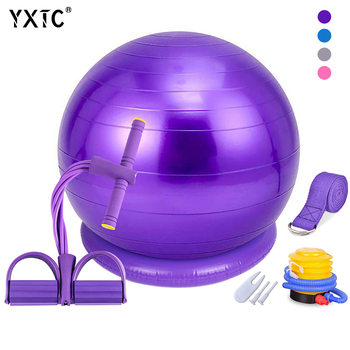 balance ball chair classic yoga ball roller chair yoga ball seat fixed office yoga fitness ball for corrective sitting posture Yoga Ball Chair 55cm 65cm,Exercise Ball & Stability Ring,For power,Balance,Pilates or Birthing Therapy.Use at Office,Gym or Home