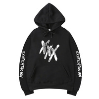 Men Hoodies & Sweatshirts xxxtentacion Hooded Mens Hoodie Hip Hop Winter Fleece Keep Warm Hoodies Pullover Streetwear Sweatshirt