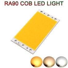 94x50 мм осветительная панель для телевещания с высоким CRI светодиодный COB светильник доска 12V 20W супер яркий RA 90 светодиодный Панель для чтения...