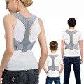 Корректор осанки для мужчин и женщин, регулируемый фиксатор осанки для облегчения боли в плечах и шее