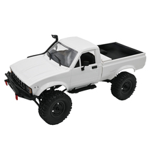WPL C24 Upgrade C24-1 1:16 RC Car 4WD Radio Control Off-Road Mini Car KIT Rock Crawler Electric Buggy Moving Machine