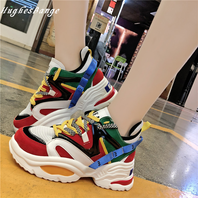 Sneakers Women Fashion Shoes  Of Harajuku Casual Comfortable Wild Autumn Winter New  Sneakers Running Outdoor Sports Training