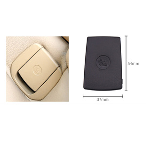 Car Rear Seat Hook ISOFIX Cover Child Restraint for BMW X1 E84 3 Series E90 F30 1 Series E87 Car Rear Seat Hook Bla Beige Buckle
