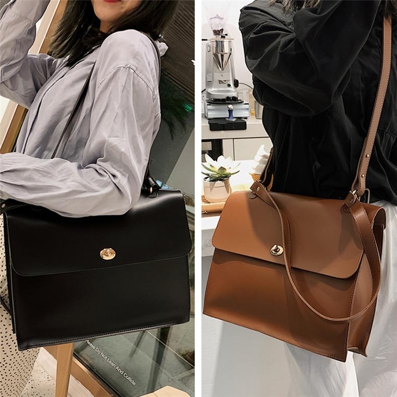 maleta feminina alta qualidade macio senhoras mensageiro sacos 2020