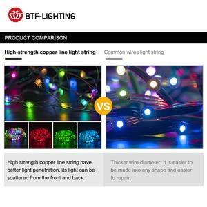 Image 4 - USB WS2812B RGB Led modul WS2812 IC LED 10 teile/mt Modul 5 6m String Streifen Licht Musik Controller individuelle Address DC5V