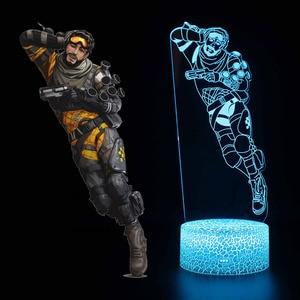 Image 2 - Yenilik Apex Legends gece lambası aksiyon figürü renk değiştirilebilir ışık oyuncaklar çocuklar için doğum günü yılbaşı hediyeleri