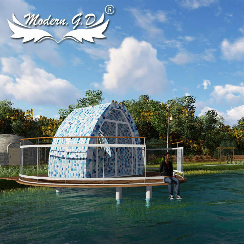 Circular mobile Domed bungalow Star tent house