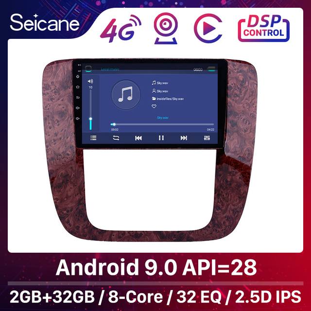 Seicane Android 8.1 Car GPS Multimedia Player for 2007 2012 GMC Yukon/Acadia/Tahoe Chevy Chevrolet Tahoe/Suburban Buick Enclave