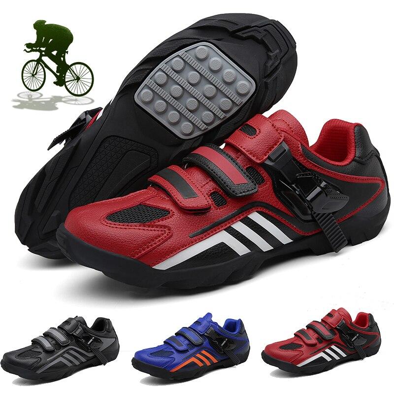 Кроссовки мужские из микрофибры, резиновая нескользящая обувь для горного велосипеда