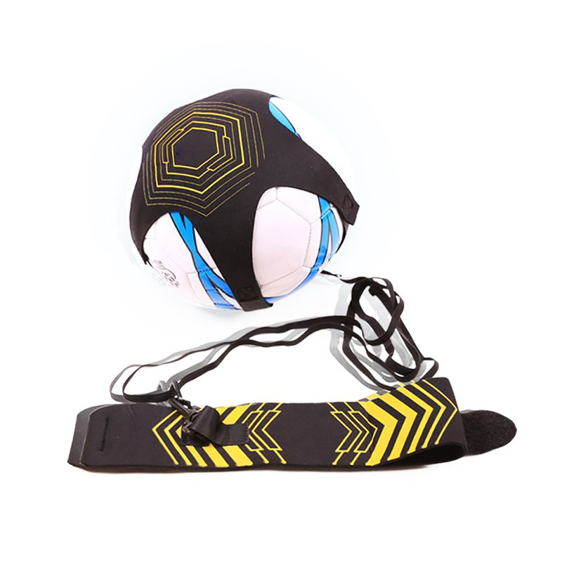 Kids Adjustable Football Kick Trainer Waist Belt Portable Elastic Soccer Control Solo Training Strap