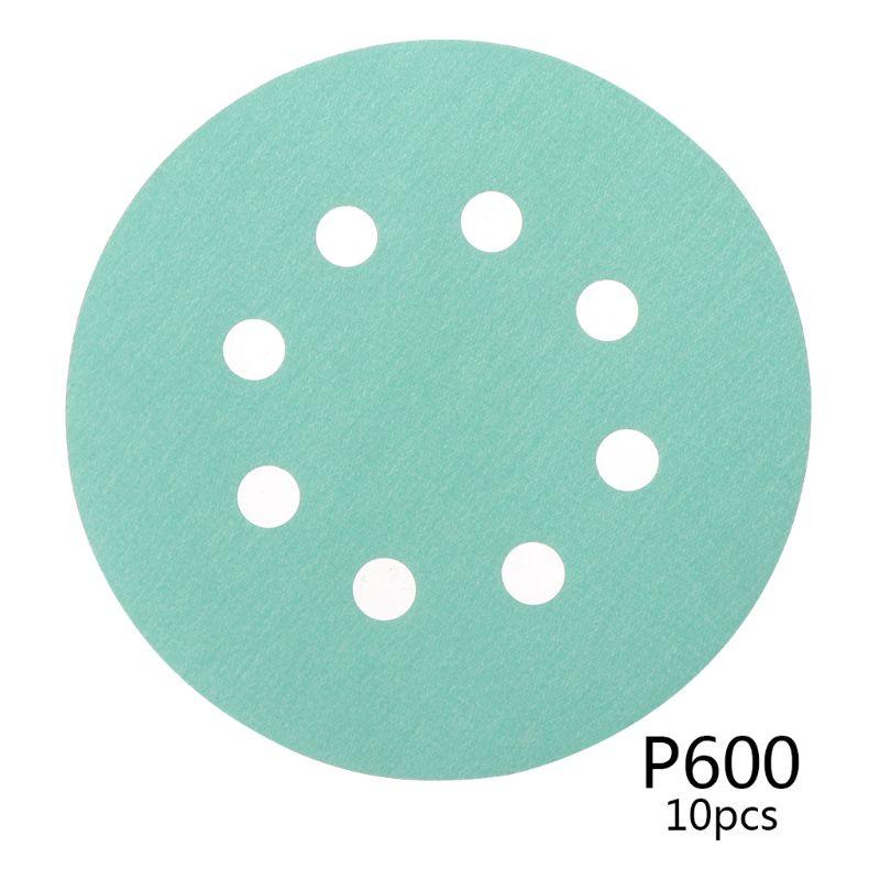 10pcs 10pcs Professional Anti Clog 125mm Sandpaper 5