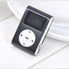 Leitor de mp3 usb mini clipe mp3 player suporte de tela lcd 32gb micro sd tf cartão walkman bolso áudio leitor de música portátil 6 cores
