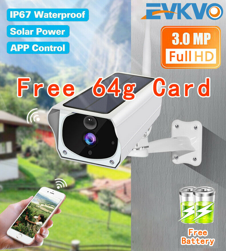 3MP Solar Power Full HD IP Camera Outdoor IP66 PIR Detect Dual Light Video Surveillance Security Wireless Battery CCTV Camera