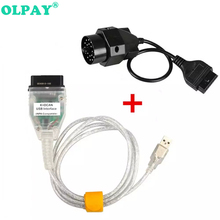 For BMW INPA K+CAN K CAN With FT232RL Chip with Switch for DCAN USB Interface Cable 20PIN