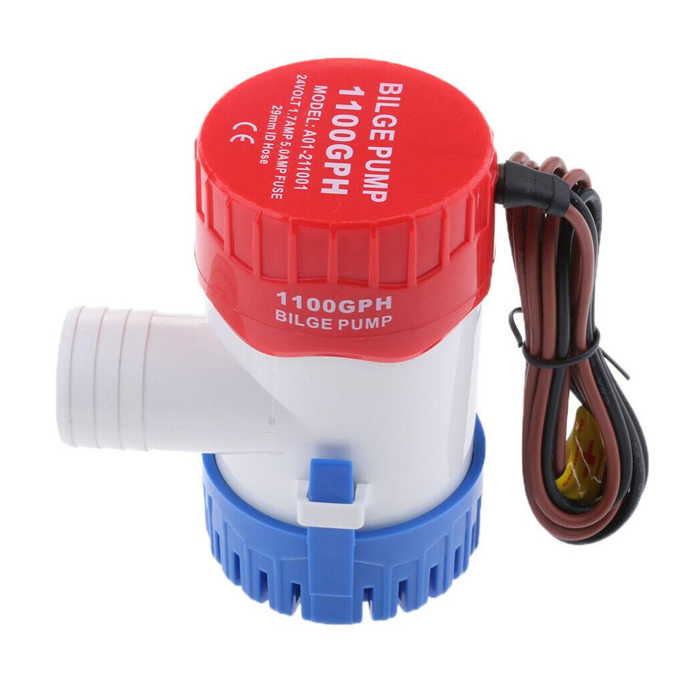 <font><b>1100</b></font> <font><b>GPH</b></font> 12Volt Marine Boat <font><b>Bilge</b></font> Water <font><b>Pump</b></font> Submersible for Yacht RV SPA Pool image