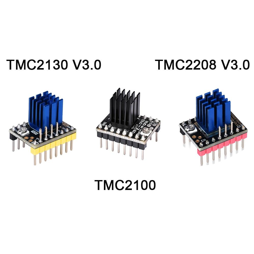 BIGTREETECH TMC2208 V3.0 TMC2130 TMC2100 Stepper Motor Driver Stepstick SKR V1.3 MKS GEN V1.4 GEN L Ramps 1.6 3D Printer Parts