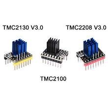Bigtreetech tmc2208 v3.0 tmc2130 tmc2100 stepstick driver de motor deslizante skr v1.3 mks gen v1.4 gen l rampas 1.6 peças de impressora 3d