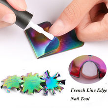 Cutter Nail-Manicure French-Line Trimmer Nail-Stencil-Edge Edge-Nail-Tool 1pc Styling-Tools