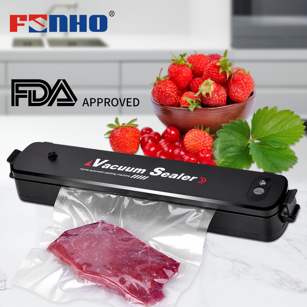 Funho Electric Vacuum Sealer Packaging Machine For Home Kitchen Including 15pcs Food Saver Bags Commercial Vacuum Food Sealing