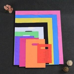 Image 1 - פלסטיק שקיות למתנה בגדי קניות אריזה מותאם אישית מותג עסקי לוגו סיטונאי בתפזורת (הדפסת דמי הוא לא כלול)