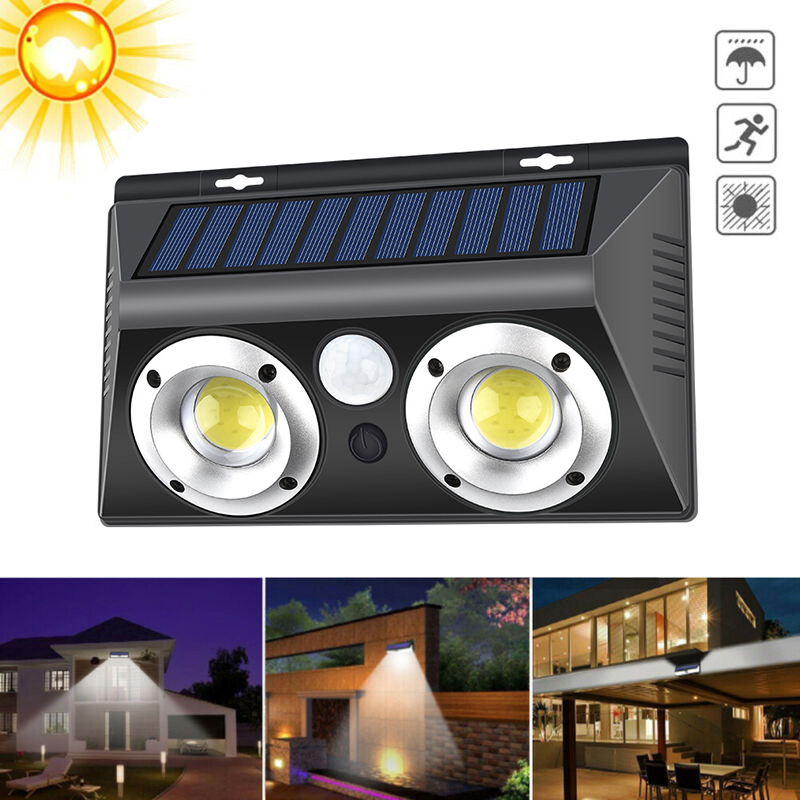 32/40LED Solar Light Outdoor Solar Lamp PIR Motion Sensor Wall Lamps IP65 Waterproof Solar Sunlight Powered Garden Street Light